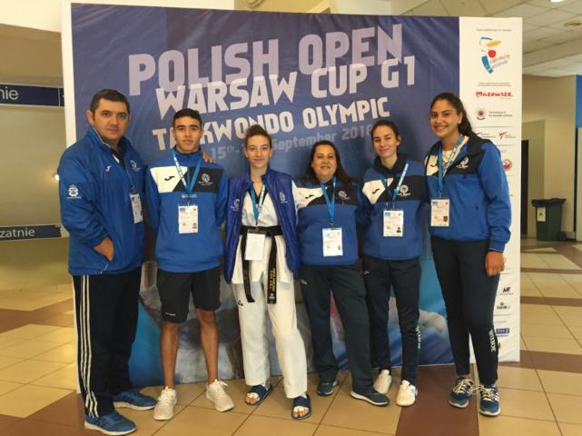 Gran Trabajo en el Open de Polonia para el Suh Sport