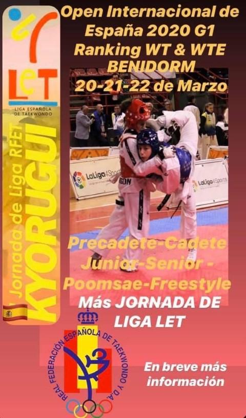 OPEN DE ESPAÑA 20 03 2020