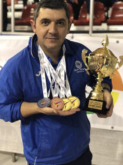 Suh Sport Subcampeones de Europa 06 12 2018