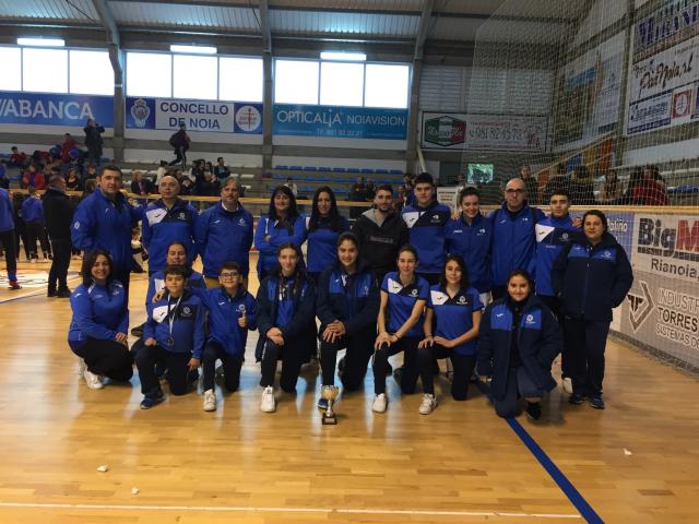 Subcampeones Gallegos Senior Noia 22 12 2018